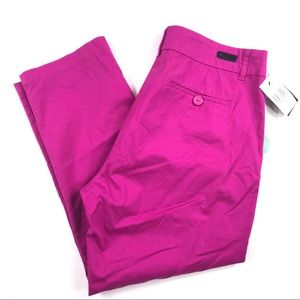 Kut from the Kloth Taylor Crop Trouser Sz 14